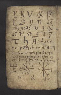 le vide grenier de didou: The 'Little Book Of Magic' is a seventeenth-century Icelandic manuscript