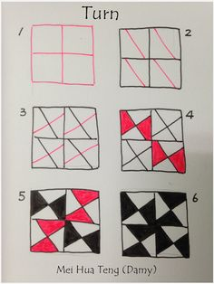 How to draw TURN « TanglePatterns.com