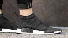 adidas NMD CS1 Winter Wool Primeknit Black | The Sole Supplier