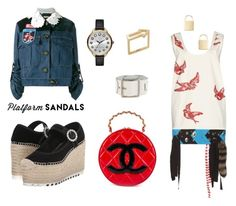 """""""Senza titolo #33"""" by sara-bindi ❤ liked on Polyvore featuring Miu Miu, Marc Jacobs, Marc by Marc Jacobs and Chanel"""