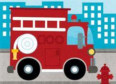 """En France, les camions de pompiers sont rouge pétant. Mais jusqu'à la fin du XIXe siècle, les """"soldats du feu"""" circulaient dans des véhicules vert et noir."""