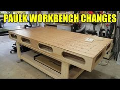 Modified Paulk Workbench - 203 - YouTube