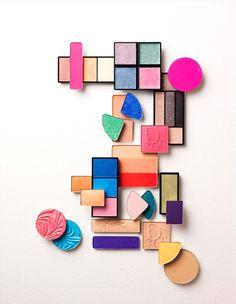 Beauty I Photography by Frank Brandwijk I 'Colored Eye Makeup'