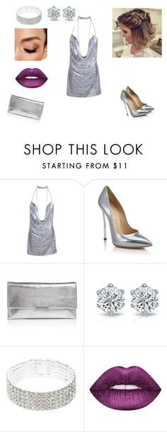 """Sans titre #128"" by lilapanda ❤ liked on Polyvore featuring Casadei, Loeffler Randall and Avon"