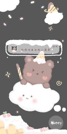 Cute Pastel Wallpaper, Sanrio Wallpaper, Cartoon Wallpaper Iphone, Soft Wallpaper, Cute Patterns Wallpaper, Bear Wallpaper, Aesthetic Pastel Wallpaper, Kawaii Wallpaper, Cute Cartoon Wallpapers