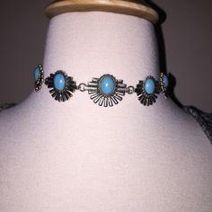 Bohemian Turquoise Choker Necklace Bohemian Turquoise Choker Necklace. Adjustable. Brand New! Jewelry Necklaces