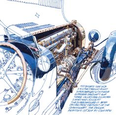 1927 Bugatti Type 35 Peter Hutton