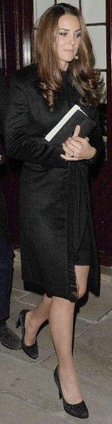 10 October 2012 - Black Fringed Coat Unknown