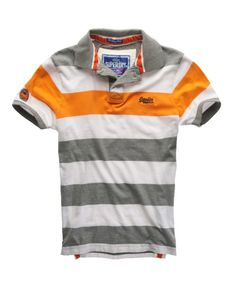 Superdry Hoopstripe Polo - Men's Polo Shirts