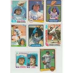 Huge 60 Different FERNANDO VALENZUELA RC 1981 - 2015 card lot Dodgers Padres Listing in the 1980-1989,Sets,MLB,Baseball,Sports Cards,Sport Memorabilia & Cards Category on eBid United States | 147949499