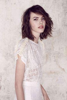 La première collection de robes de mariée Sessun par Emma François