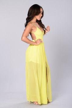 Sundance Dress - Yellow
