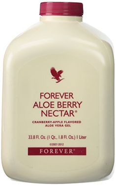 Forever Aloe Berry Nectar   - Stabilised Aloe Vera - Natural Flavour of Apple and Cranberry - Great for gastro-intestinal health, skin and immune function
