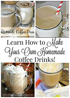 How to Make Espresso at Home and Enjoy Homemade Gourmet Coffee Drinks Learn How to Make Your Own Homemade Coffee Drinks at Home ~ Save tons of money by making your own coffee drinks! Learn how to make Espresso too! Espresso At Home, Best Espresso, Espresso Coffee, Italian Espresso, Coffee Coffee, Easy Coffee, Starbucks Coffee, Coffee Life, Coffee Blog