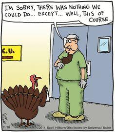 turkey & surgeon