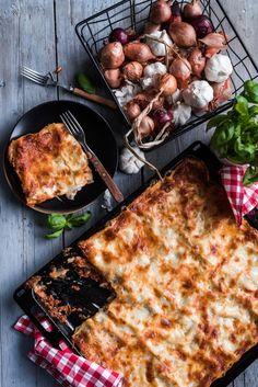 Pidätkö lasagnen rapeasta pinnasta? Tässä resepti, jossa sitä on paljon.