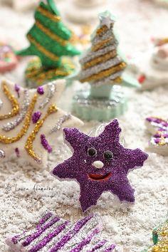 Christmas decorations paste Salt