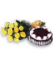 Perfect Combo-VL : buy flowers online, buy cake online, send flowers, cakes to India Cake Online, Online Gifts, Cake Bouquet, Buy Flowers Online, Chocolate Truffle Cake, Anniversary Flowers, Anniversary Cakes, Buy Cake, Cake Delivery