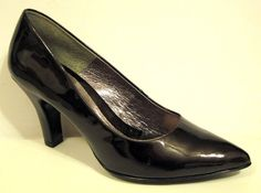 Sofft 'Avant' Brown Patent Leather Pump Size 9M #Sofft #Slingbacks