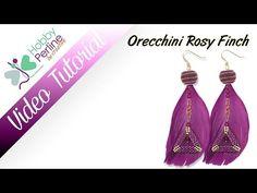 Orecchini Rosy Finch | TUTORIAL - HobbyPerline.com