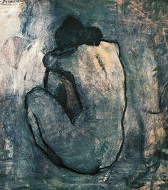 Blue Nude, 1902, Pablo Picasso