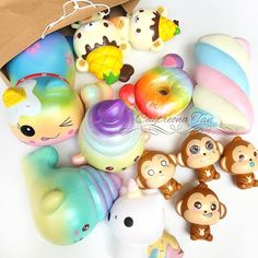 Just arrived 😍✌️ Thank you and Nom Noms Toys, Squishy Store, Silly Squishies, Pretty Slime, Slime And Squishy, Diy Crafts For Girls, Jojo Bows, Kawaii Plush, Toys For Girls