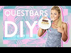 QUESTBARS SELBERMACHEN ?!? Fitness Proteinriegel - YouTube