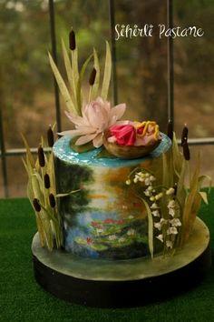 Thumbelina Fairytale Cake by Sihirli Pastane