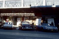 NYC, 1970s. Looks like The Meat Packing District—unless they were packin' meat somewhere else.
