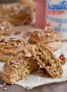 It's not the holidays without a good Maple Cookies! These are soft, fluffy, and covered in a rich maple caramel glaze.