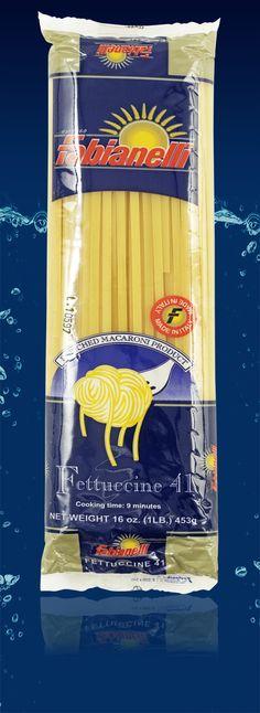 Fettuccine - dorum wheat semolina pasta