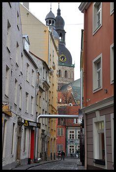 Street in Old Riga.