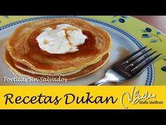Desayuno Dukan fase Ataque: Tortitas sin salvados | Recetas Dukan Maria Martinez