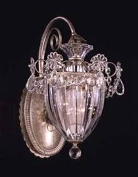 Schonbek 1240 Bagatelle 1 Light Lantern Wall Sconce Light Fixture | Schonbek Wall Sconces