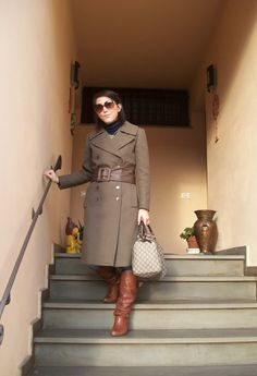 Vintage selection, gennaio 2012  , Gucci in Bags, Sartoriale  in Trenches, Motivi in Belts, Intimissimi in Turtlenecks, Vogue in Glasses / Sunglasses