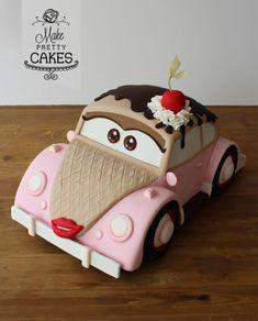 Vroooooom! Meet Miss Lovebug - cake by Make Pretty Cakes