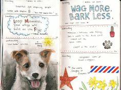 Jenny's Sketchbook: Wag More, Bark Less