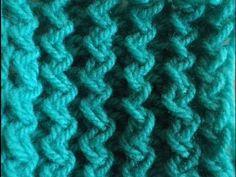 ΠΛΕΚΤΑ ΜΕ ΒΕΛΟΝΕΣ-ΑΦΡΑΤΟ ΑΝΑΓΛΥΦΟ ΣΧΕΔΙΟ. - YouTube Easy Knitting, Knitting Stitches, Crochet Boarders, Diy And Crafts, Knit Crochet, Youtube, Knitwear, Women, Watches