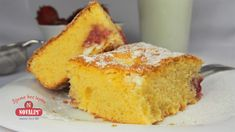 Bezlepková bublanina s ovocím - Novalim Cornbread, Ethnic Recipes, Food, Basket, Millet Bread, Meal, Essen, Hoods, Corn Bread