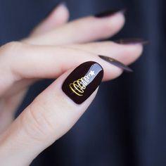 Gold Nail Designs, Holiday Nail Designs, Holiday Nail Art, Winter Nail Art, Winter Nail Designs, Christmas Nail Art, Winter Nails, Dry Nail Polish, Dry Nails