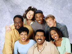 The Steve Harvey Show - The 25 Best Black Sitcoms of All Time 90s Tv Shows, Old Shows, Great Tv Shows, Movies And Tv Shows, Steve Harvey, Black Sitcoms, Black Tv Shows, Gta San Andreas, School Tv