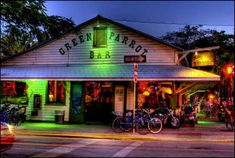 My favorite bar in my favorite city... The Green Parrot in Key West, FL