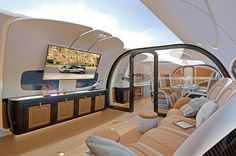 Airbus Enlists Pagani for Ultra-Luxe Corporate Jet Cabin Designs | American Luxury