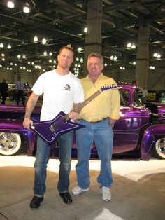 James Hetfield's 1956 Ford F100 built by Blue Collar Customs