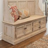 for entryway Found it at Wayfair - Elodie Pine Storage Entryway Bench