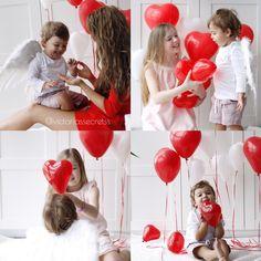 Valentine's ideas kids photography