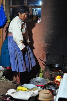 Rustic kitchen. Lake Titicaca, Peru This world is really awesome. The woman who make our chocolate think you're awesome, too. Please consider ordering some Peruvian Chocolate today! Fast shipping! http://www.amazon.com/gp/product/B00725K254