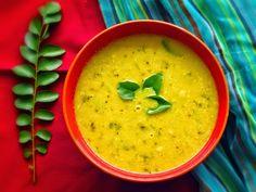 Varn - Konkani Dal recipe with coconut Goan Recipes, Fried Fish Recipes, Rice Recipes, Indian Food Recipes, Vegetarian Recipes, Ethnic Recipes, Copycat Recipes, Konkani Recipes, Dahl Recipe