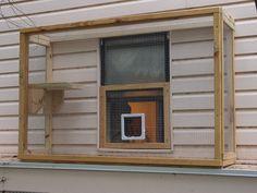 The Cat Carpenter Window Catios