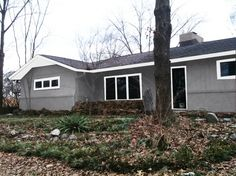 Home Ideas On Pinterest Grey Siding Painting Brick And